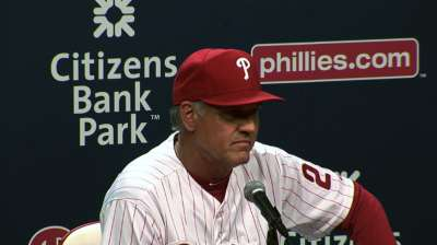 Amaro: Sandberg has done OK in first week