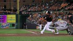 O's outslug A's to gain ground in Wild Card race
