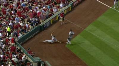 Medlen outdueled by Wainwright in St. Louis