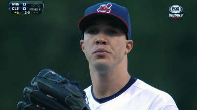 Tribe drops opener against Twins as chances slip