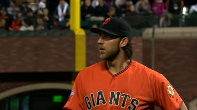 Bumgarner's WHIP puts him in rare company