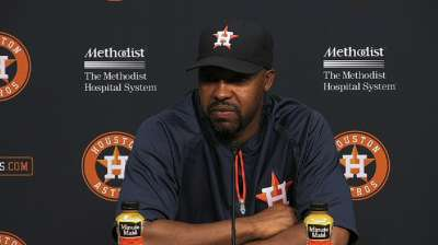 Due to Minor League playoffs, Astros to limit callups