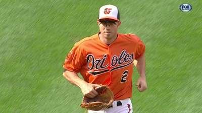 Defense big staple of Orioles' success this year
