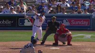 Dodgers can't overcome Ryu's first-inning struggles