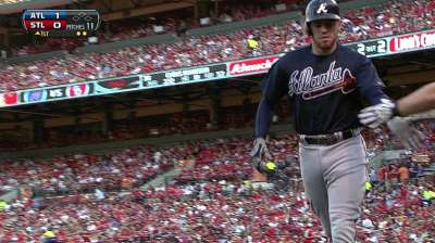Braves' slump continues behind Teheran in St. Louis
