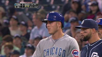 Batting in second spot not first choice for Rizzo