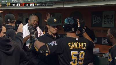 Bucs drop into first-place tie after shaky start