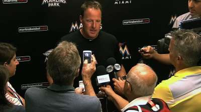 Marlins weighing options for September callups