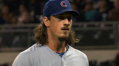 Samardzija shares NL Player of Week Award