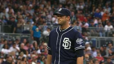 Stults solid, but Samardzija limits Padres