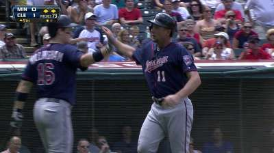 Twins miss scoring opportunities in loss to Tribe