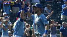 Royals rally to end slide behind Butler's hustle