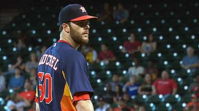 Astros' sweep attempt ends on Lo note