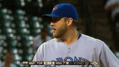 Blue Jays reward Buehrle with ninth-inning rally