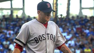 Now in Boston, Peavy reflects on time in Chicago
