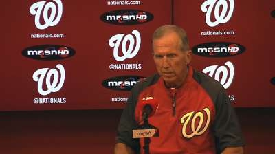 Late push could propel Nats into Wild Card game