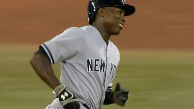 Pinstripes have brought out best in Soriano
