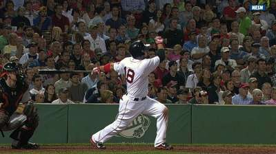 Seventh wonder: Victorino powers rout