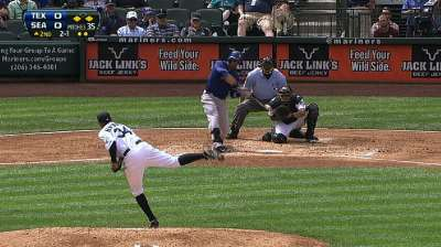 Perez beats King Felix again after offensive explosion