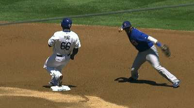 Jackson unable to keep lid on Dodgers in loss