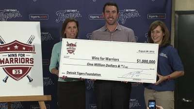 Verlander helps launch initiative for veterans