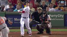 Carp's pinch-hit single helps Sox edge O's