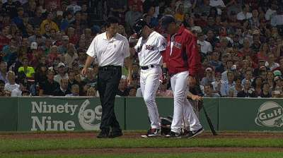 Ellsbury has compression fracture in right foot