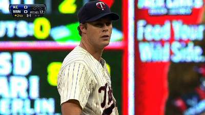 Twins come up empty behind Albers