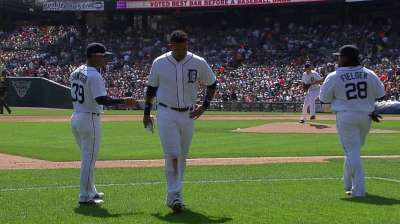Miggy expects to play Friday after early exit