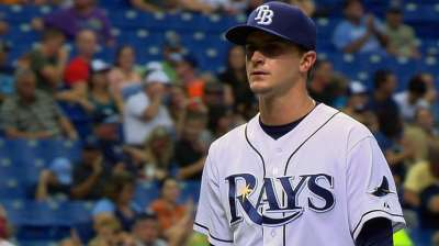 Rays have chances, but take shutout vs. Angels