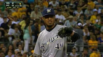 Dominant Gallardo helps play spoiler in Pittsburgh