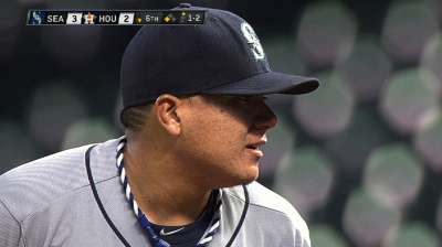 Franklins bash Mariners out of six-game slide