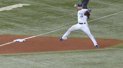 Lawrie displays his defensive talents vs. KC