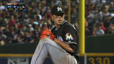Marlins' skid reaches five despite Fernandez's efforts