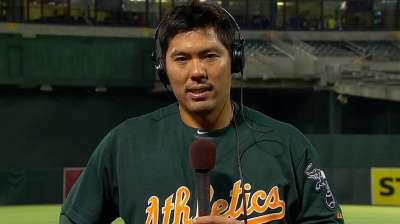 Melvin calls Suzuki's return 'pretty seamless'