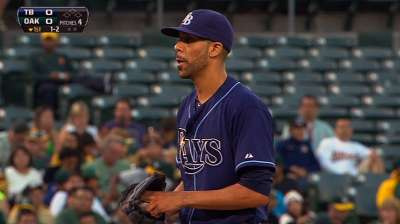 Price derailed as Rays drop opener with A's