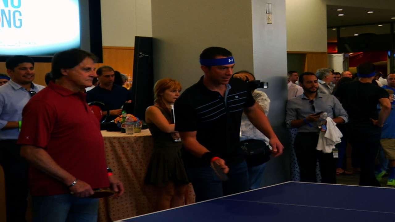 Dodgers ready for camp battle -- in ping-pong
