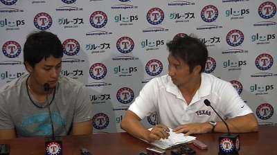 Washington not changing gameplan with Darvish