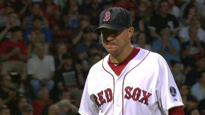 Peavy beats former mates at Fenway Park