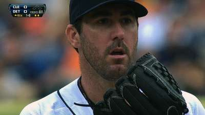 Verlander looks like old self as Tigers fall to Tribe