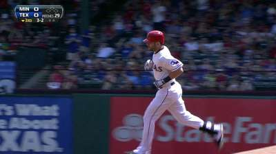 Rangers fall as division lead dwindles to one game