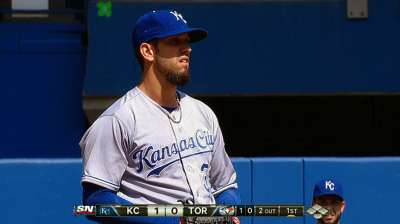 Shields dominates as Royals blank Blue Jays