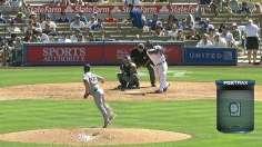 Puig backs Greinke as Dodgers sweep Padres