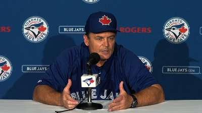 Blue Jays' bats can't dent Royals' Shields