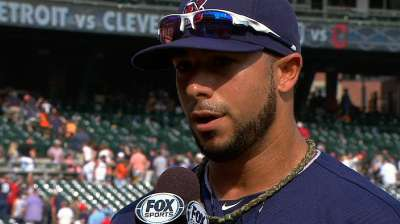 Aviles hopes grand slam gives Tribe needed jolt