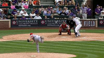 Cuddyer's monster game overshadowed by Helton