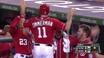 Clutch rally late helps Nats gain in Wild Card race