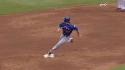 Dice-K labors as Mets drop opener in Atlanta