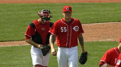 Reds move up Latos, position him for next week