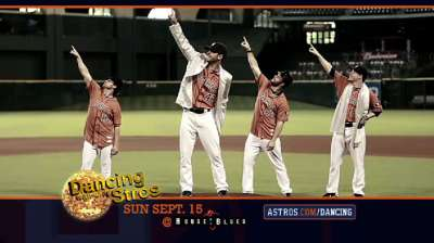 Five players prepare for Dancing with 'Stros event